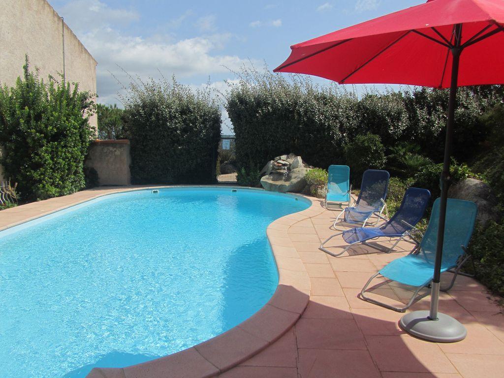 location maison 4 personnes avec piscine