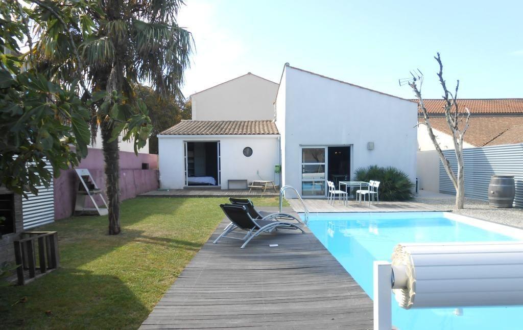 Location maison 8 personnes la rochelle - Villa charente maritime avec piscine ...