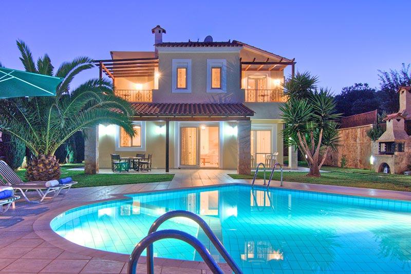 location maison crete