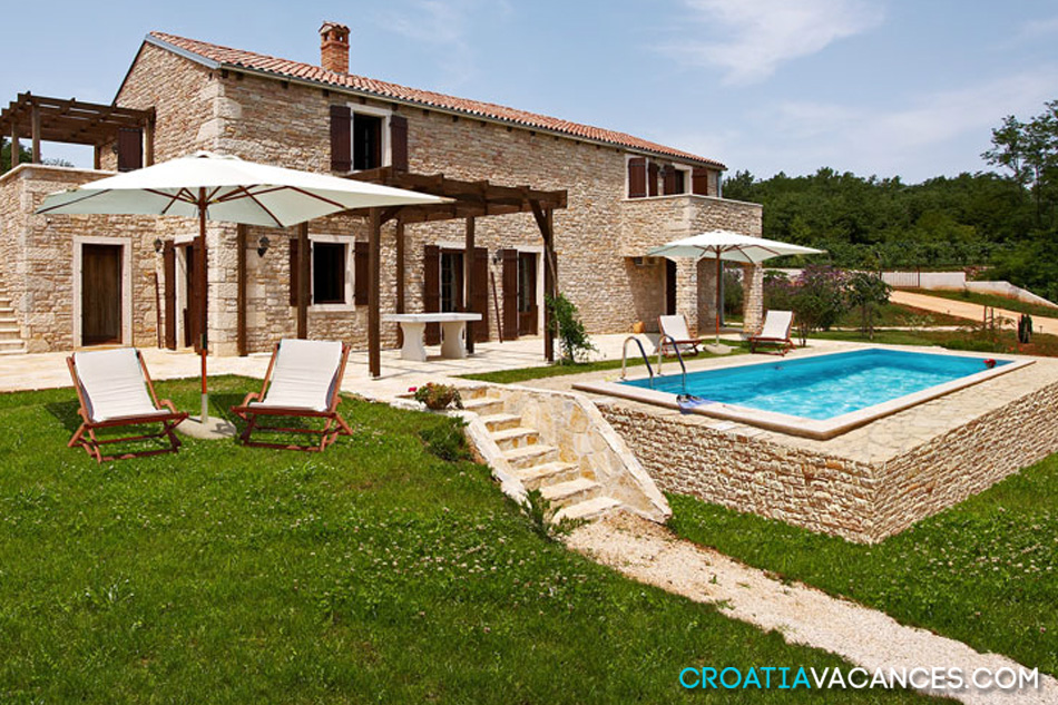 location maison croatie