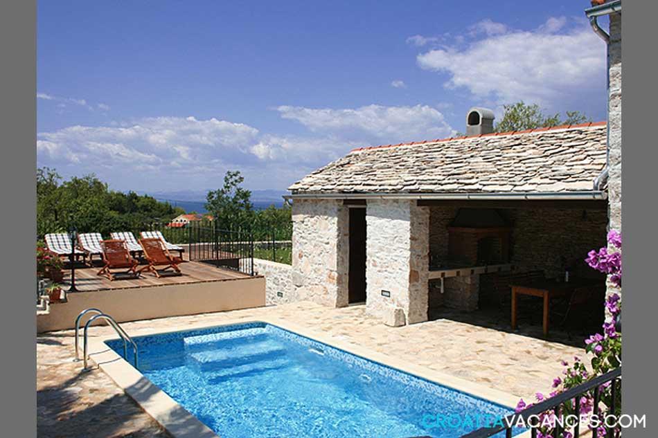 location maison ile croatie