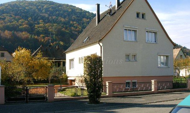 location maison kaysersberg