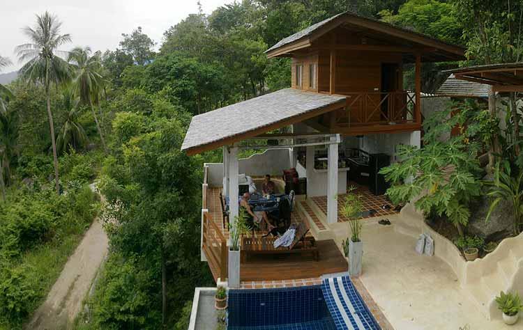 location maison koh phangan