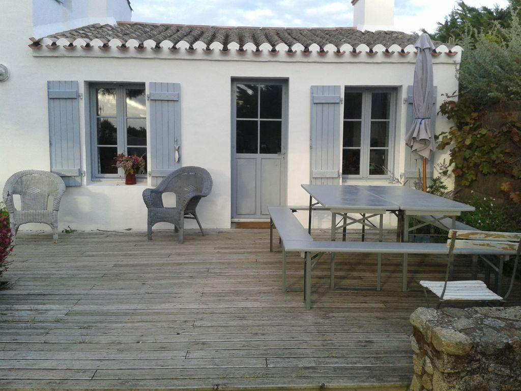 location maison noirmoutier