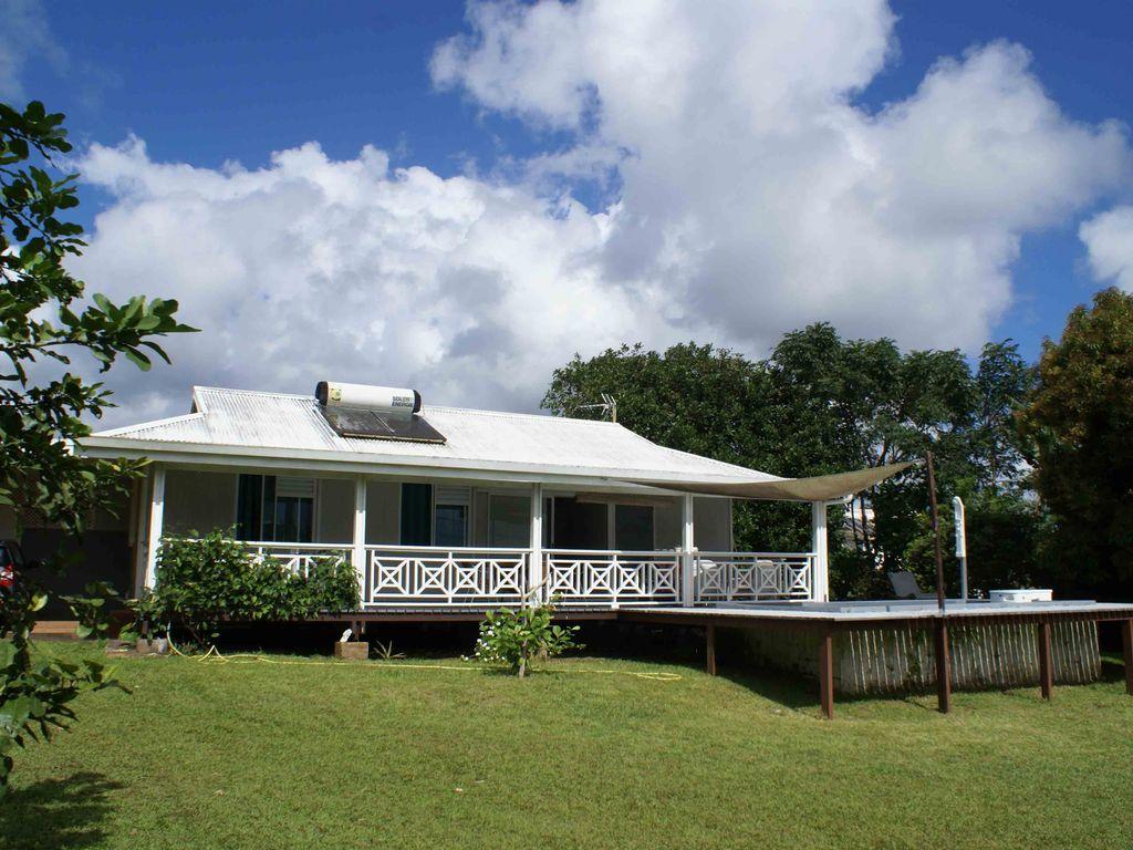 location maison presqu'ile tahiti
